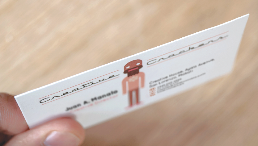 Semi-Gloss Business Cards - Zoom 3 Image
